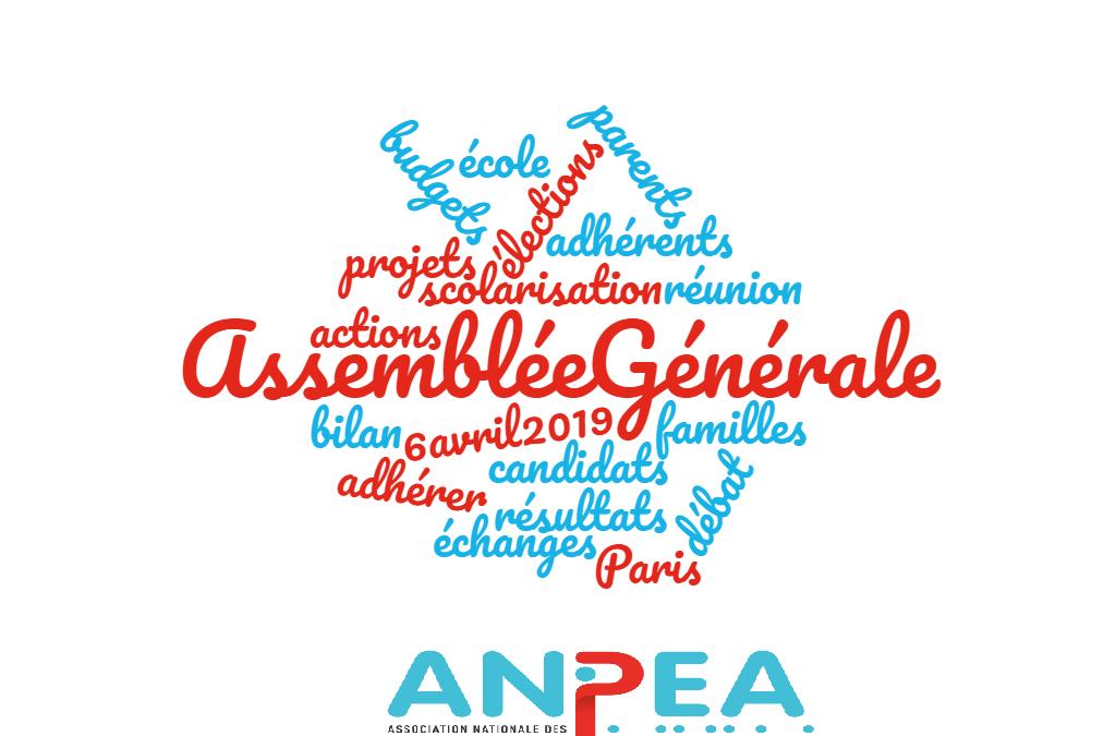 Assemblée Générale – 6 avril 2019