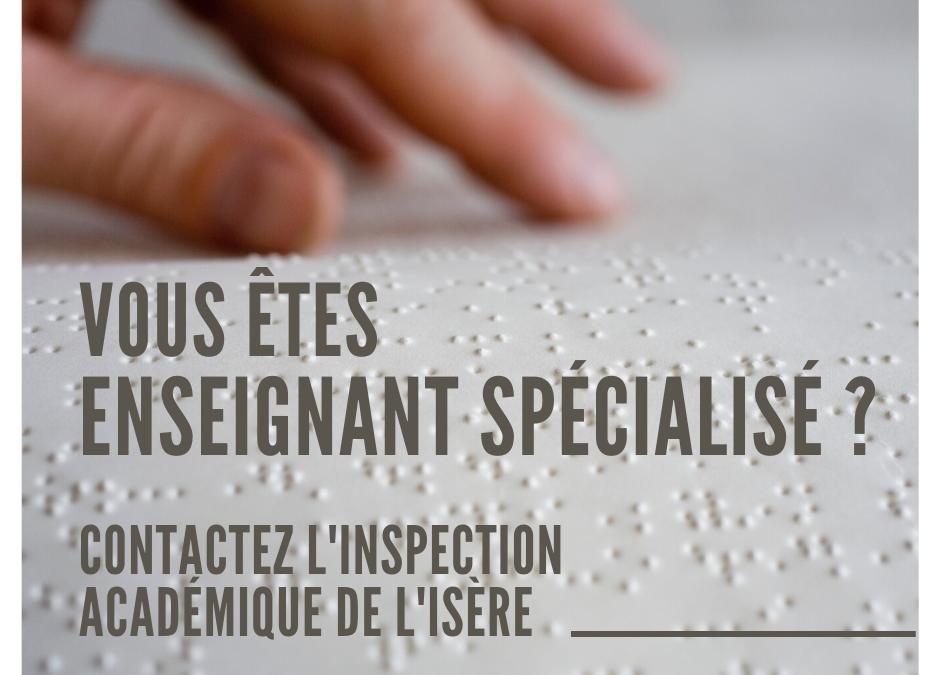 Pas d'enseignement de braille pour les élèves déficients visuels de l'Isère