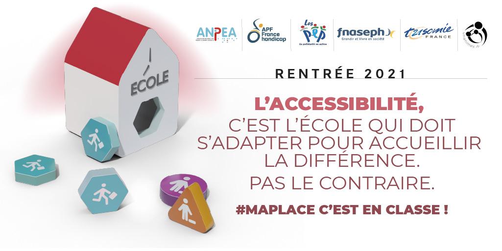 Rentrée scolaire : l'école inclusive soutenue par les Français et portée par une campagne interassociative